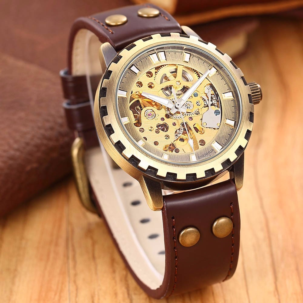 59c6197238d relógio transparente automático clássico masculino. Carregando zoom.