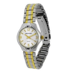 11b4ee87f Relogio Triton Feminino - Relógios De Pulso Metal no Mercado Livre ...