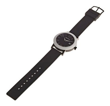 relógio triton urban unisex preto a pronta entrega original