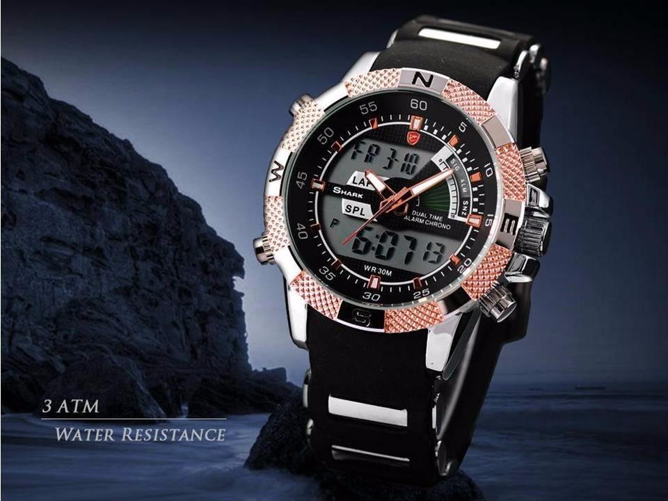 5b119744395 relógio tubarão smart-sport visor digita-analogico original. Carregando  zoom.