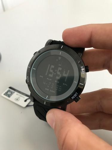 relógio tuguir digital preto com pulseiras ref: 6017