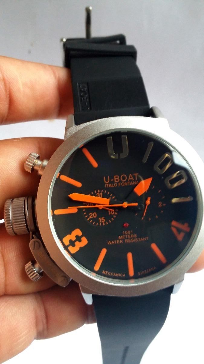 36e57cb9e00 relógio u-boat 1001 italo fontana automático edição limitada. Carregando  zoom.