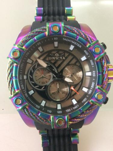 relógio ultra invicta m- 25531 bolt - a prova d'água