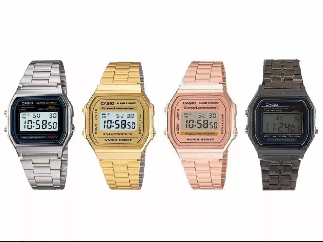 d14553dca747 relógio unisex retro .casio vintage rose moda blogueira +bri. Carregando  zoom.