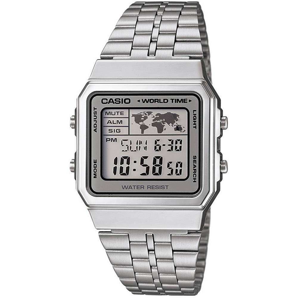 1756918ee03 Relógio Unissex Casio Vintage Digital Fashion A500wa-7df - R  243