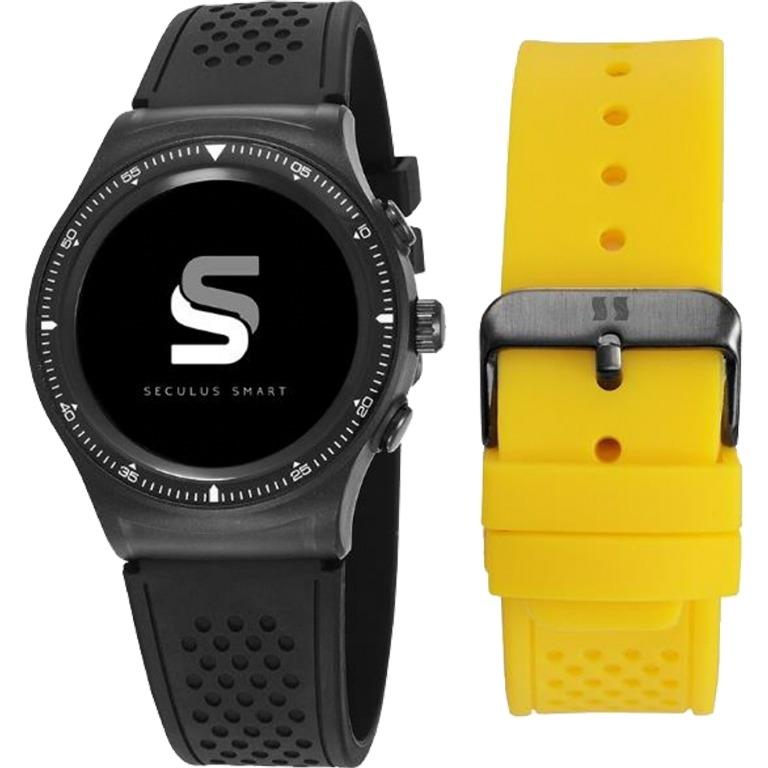 265ae50f267 Relógio Unissex Smartwatch Urbano 79000gpsvpv1 Seculus - R  751