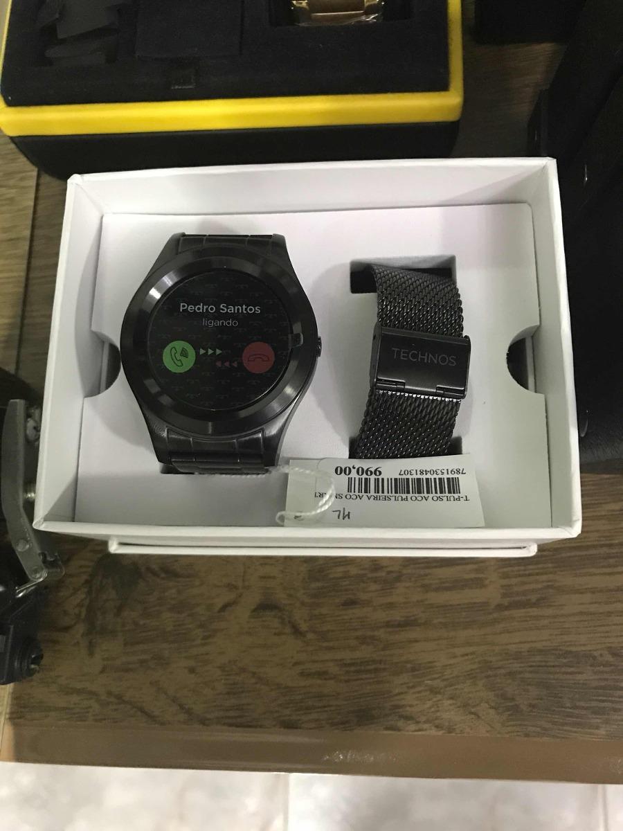 relógio unissex technos connect smartwatch sraf 4p preto. Carregando zoom. 2b7a02d825