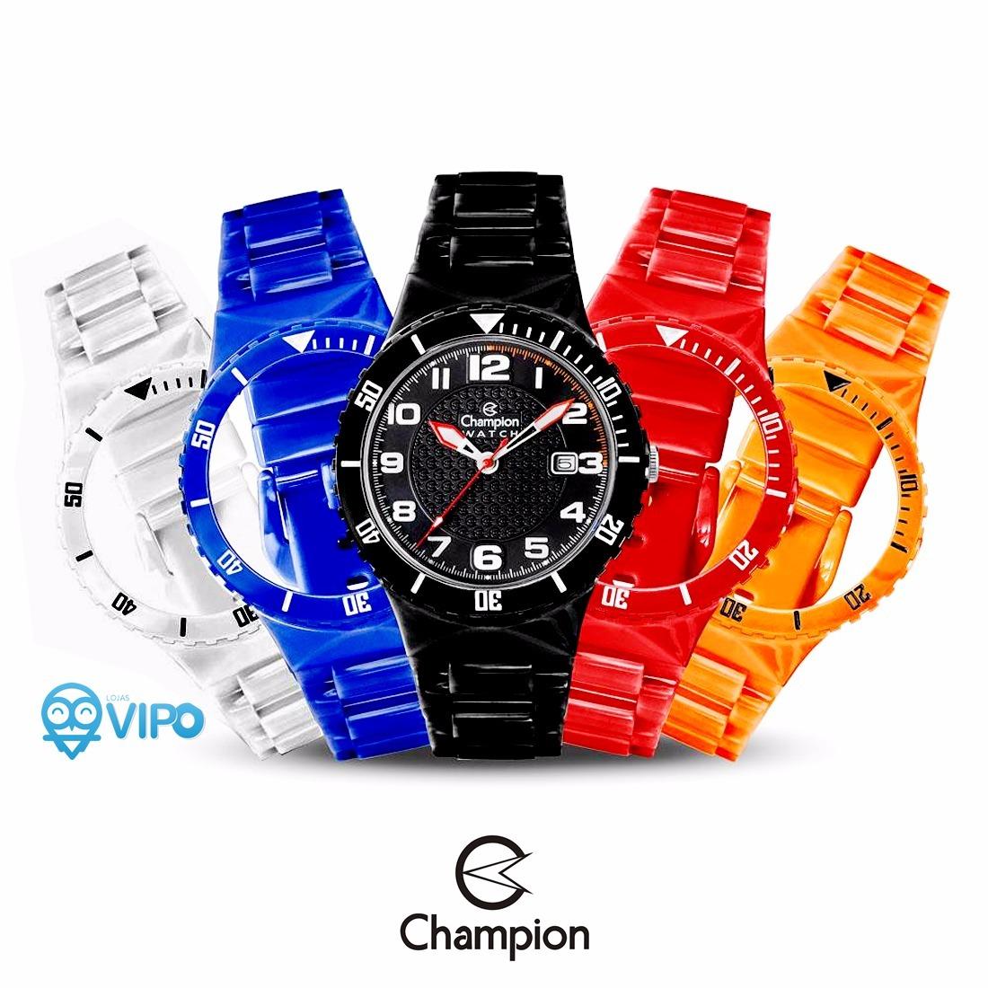 da7dd4ecc23 relógio unissex troca pulseiras analógico champion cp30119x. Carregando  zoom.