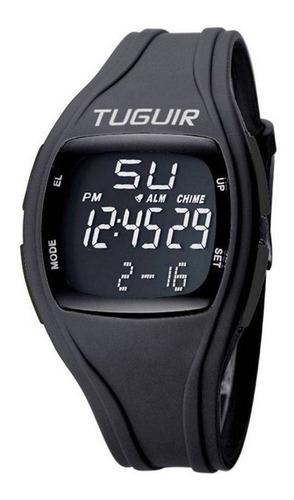 relógio unissex tuguir digital tg1602 preto c/ garantia e nf