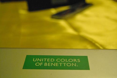 relógio united colors of benetton