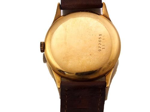 relógio universal geneve masculino todo em ouro 18k j12584