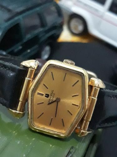 relógio universal geneve ouro 18kt