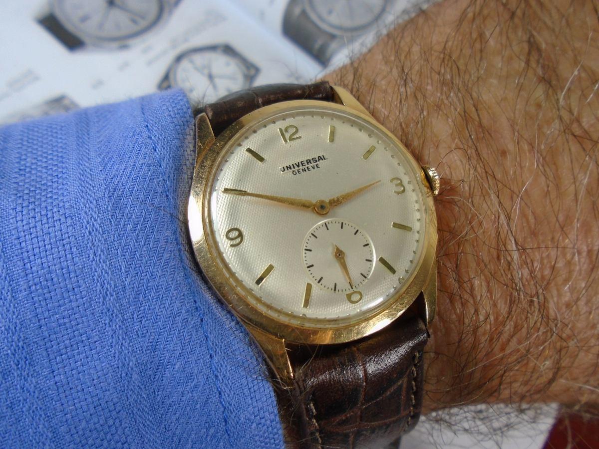 c74ca032237 Relógio Universal Geneve Ouro Maciço 18 K 0