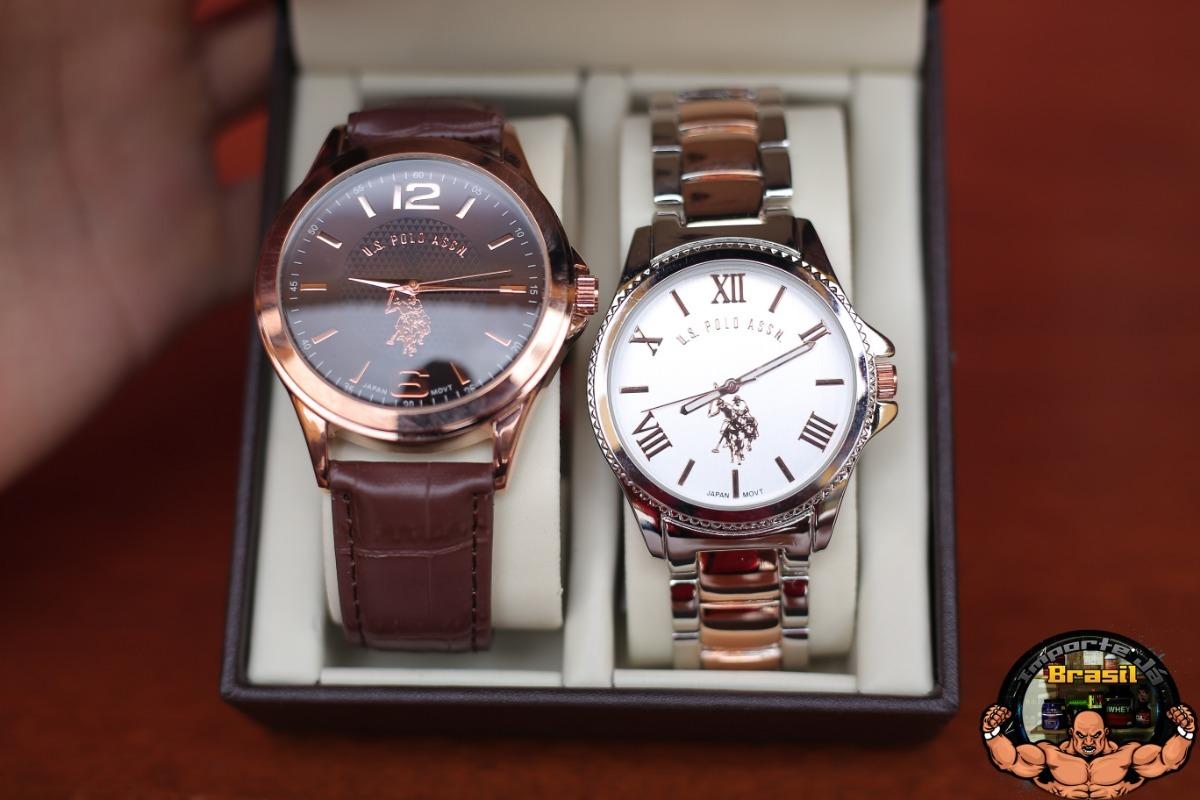 1568219de35 ... kit com 2 relógios