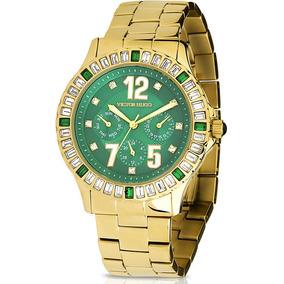 9973fdeb7 Relogio Victor Hugo Dourado - Relógios De Pulso no Mercado Livre Brasil