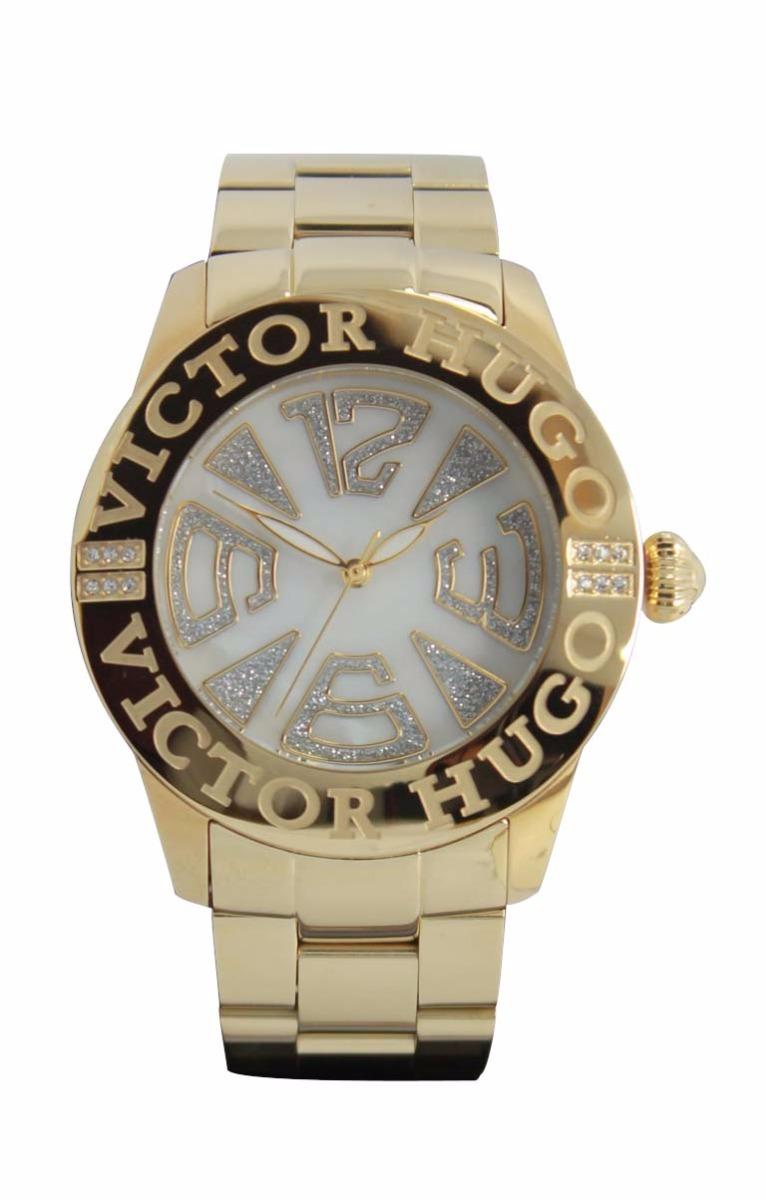20b2ece0fdd Relógio Victor Hugo Vh10119lsg 28m - R  768