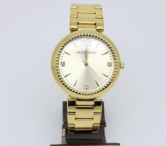 e89a25e8546 Relógio Victor Hugo Vh10154 06m Dourado