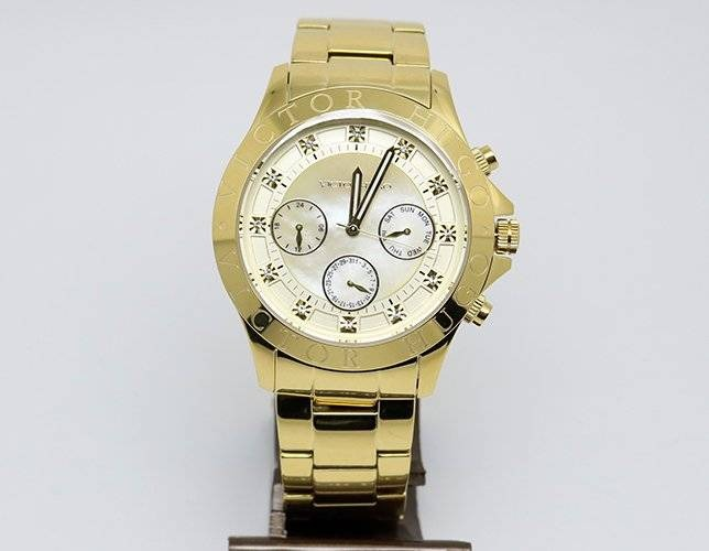 4b2a1cd9fb8 Relógio Victor Hugo Vh10155 54m Dourado