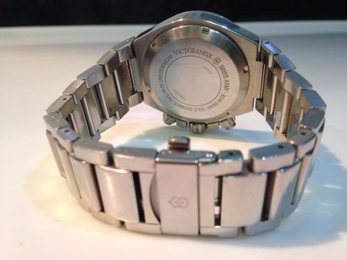 relógio victorinox - 12 x sem juros - convoy chrono  241157