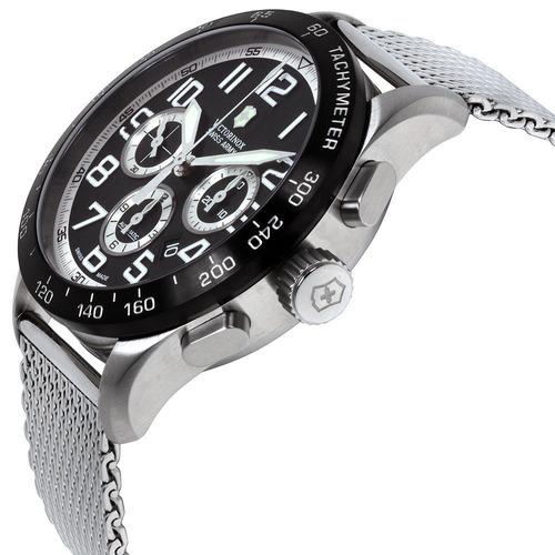 relógio victorinox 241447.1 airboss mach 6 automatico crono