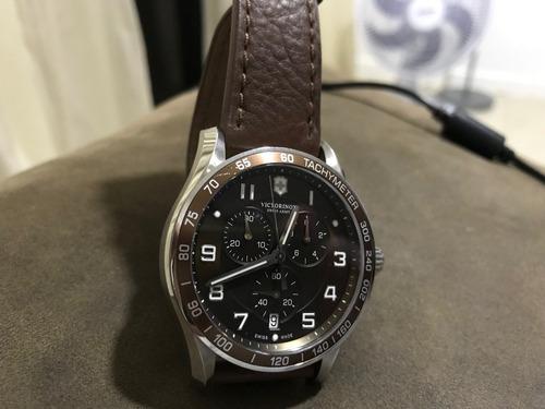 0cf05c8f865 Relógio Victorinox Chrono Classic Xls - R  1.399