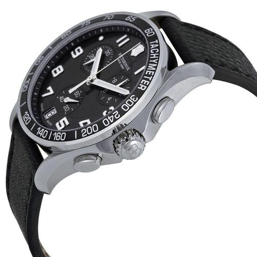 relógio victorinox classic chronograph 241493