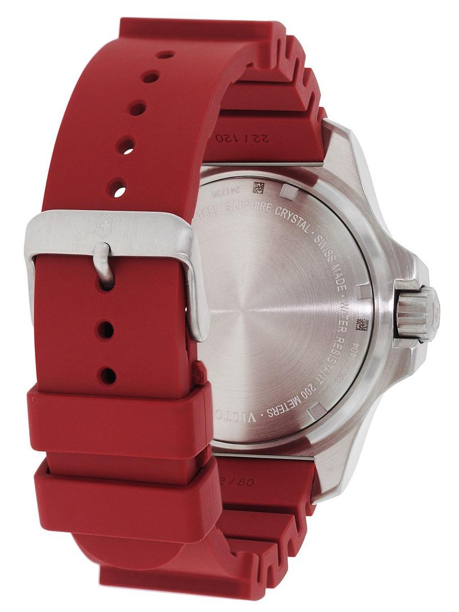 cd0ad0172cc relógio victorinox inox professional diver vermelho 241735. Carregando  zoom... relógio victorinox inox. Carregando zoom.