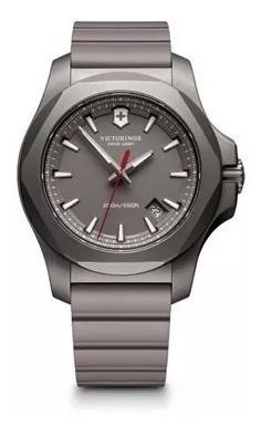 relógio victorinox i.n.o.x. titanium cinza 241757