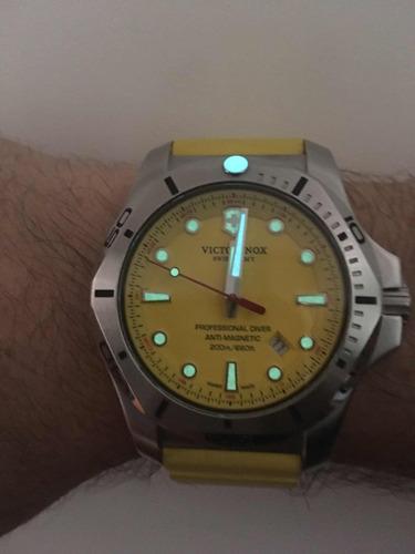 relógio victorinox inox última série impecável oportunidade