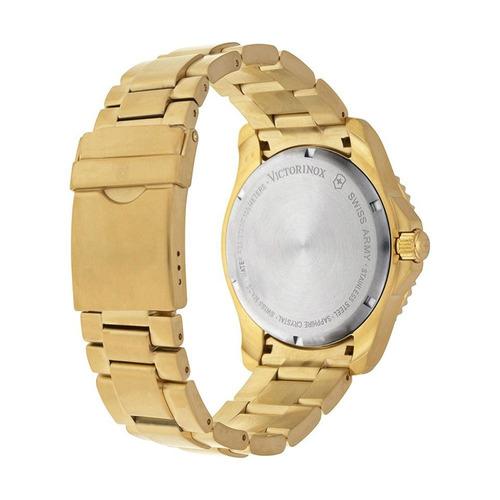 relógio victorinox maverick dourado 241607
