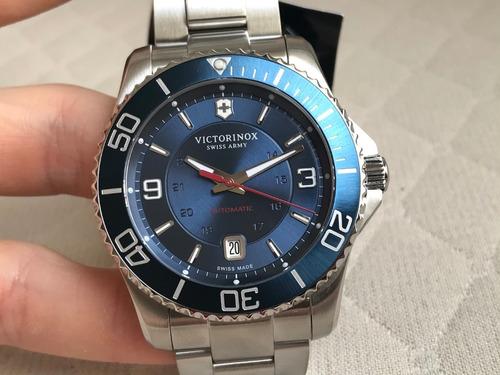 relógio victorinox swiss army maverick automatic 241706