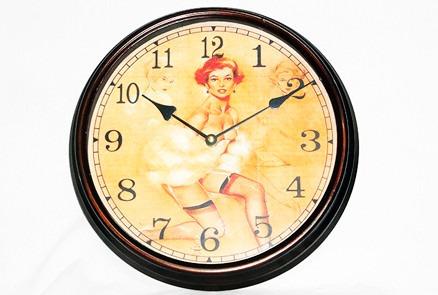 relógio vintage parede clássico