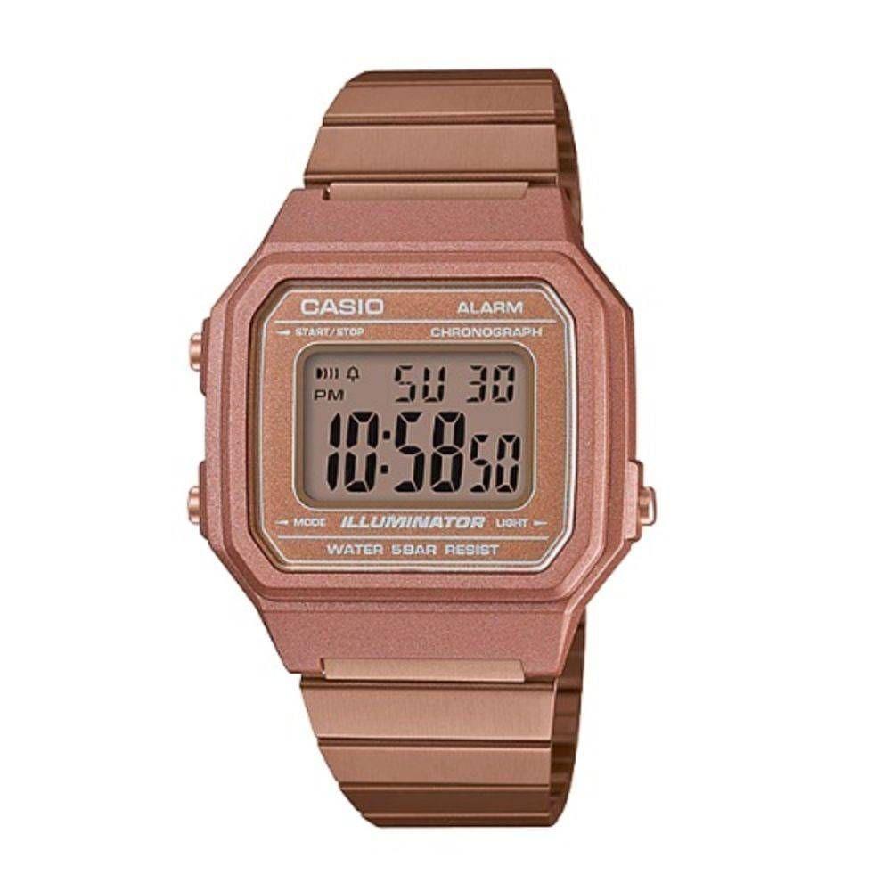 9fdd55d3a40 relógio vintage rose b650wc-5adf casio. Carregando zoom.