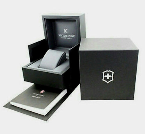 relogio vitorinox  i.n.o.x sapphire crystal mod 241739