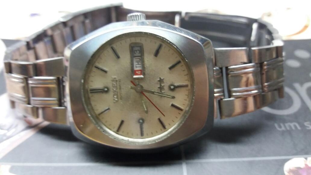 aaaae0b188d Relógio Voken 3 Estrelas Automático Antigo N Omega Tissot .. - R ...