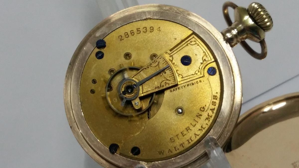 63e7908c283 Relógio Waltham