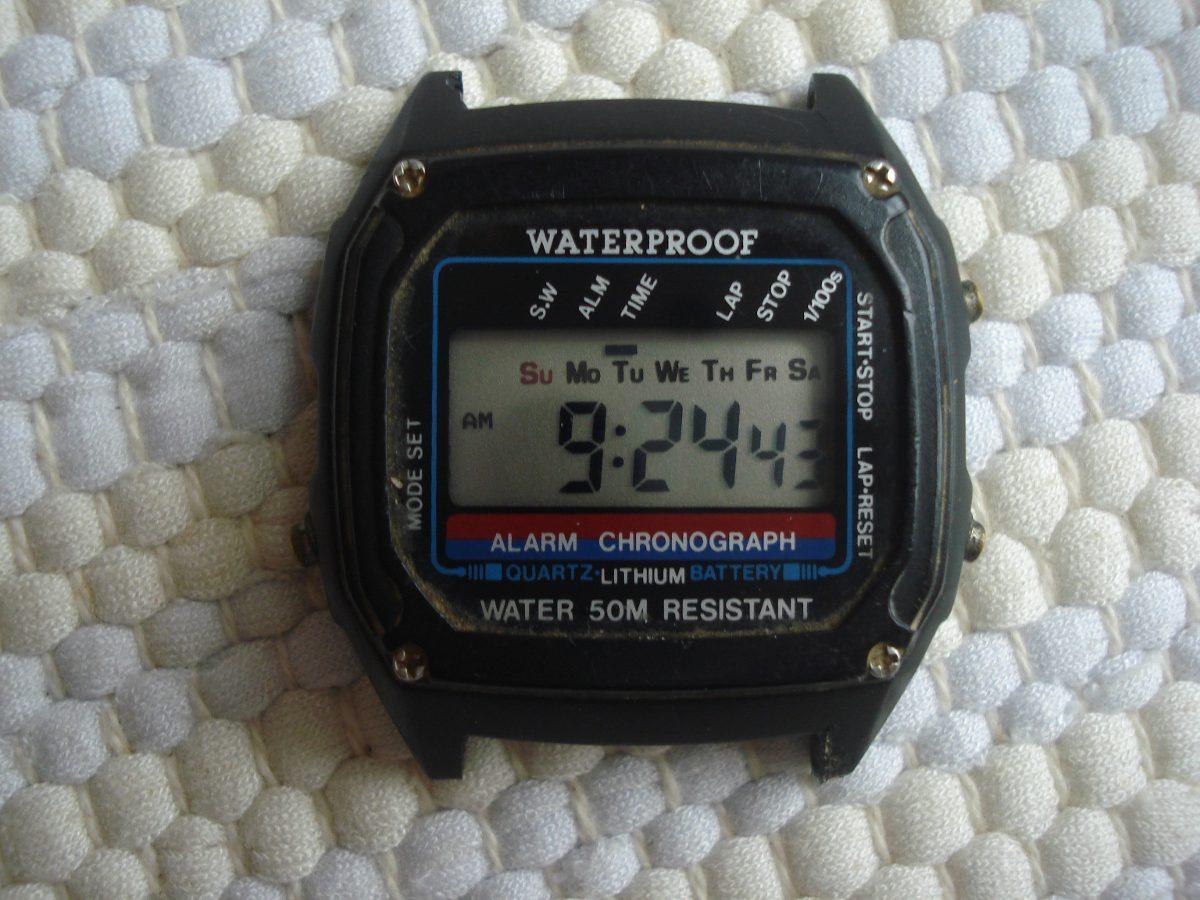 5a4039b3a5a relógio water proof original raridade. Carregando zoom.