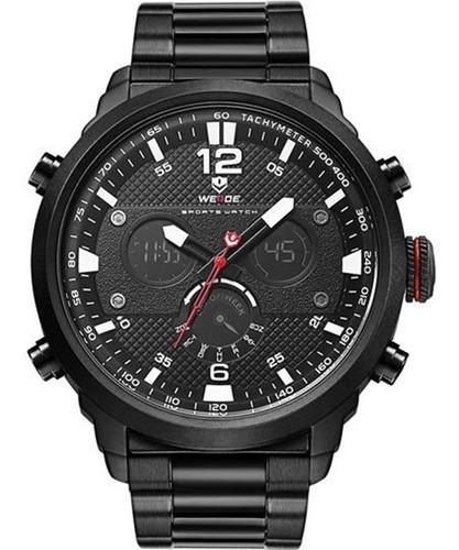relógio weide masculino original garantia nota a2184