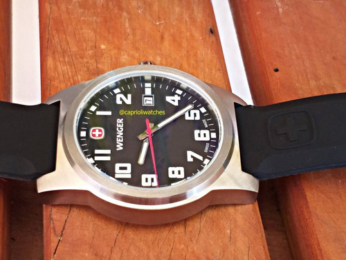 relógio wenger swiss made military novo original 40mm