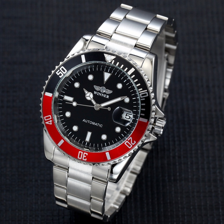 01e19f79812 Relógio Winner Automático