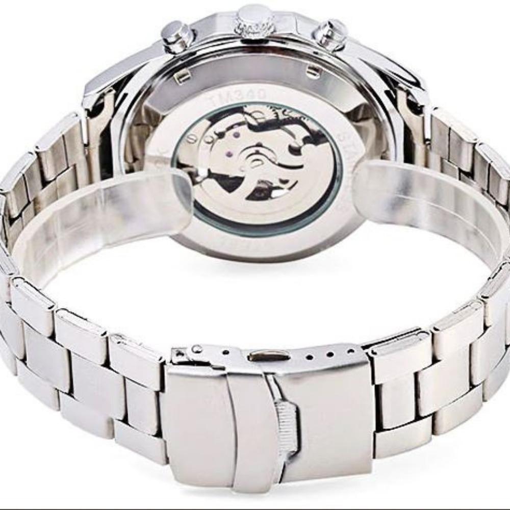375786068ea relógio winner forsining esqueleto automático promoção. Carregando zoom.