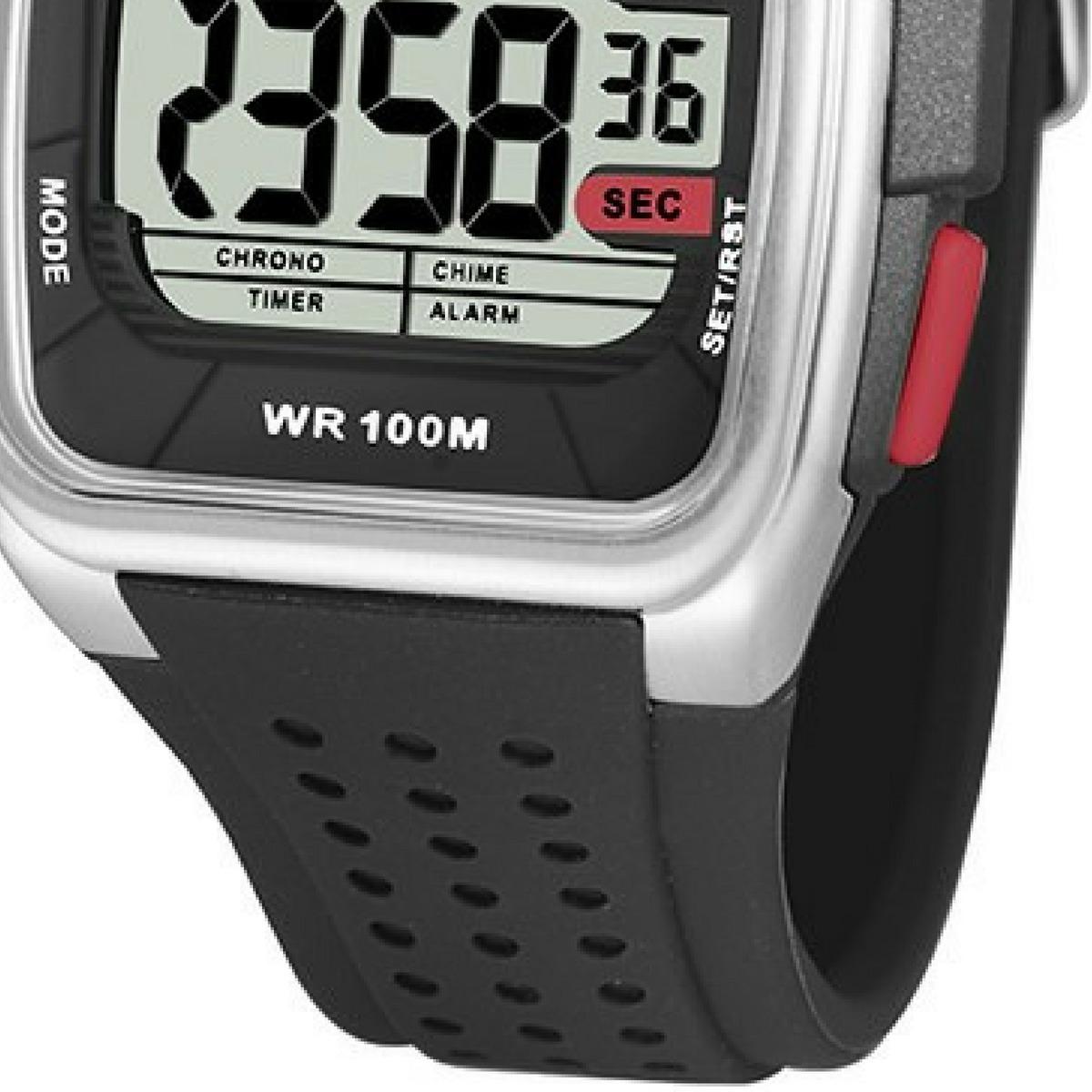 ed6ea5e8659 relógio x-games digital esportivo quadrado grande original. Carregando zoom.