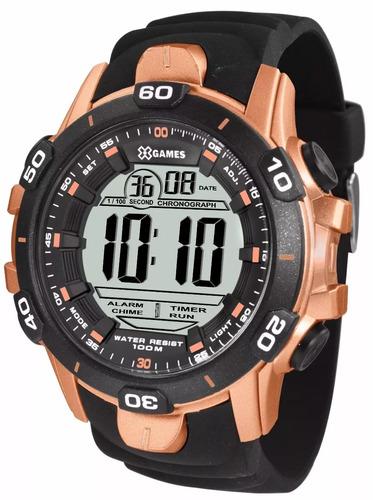 relógio x-games digital xmppd413 bxpx original com nf