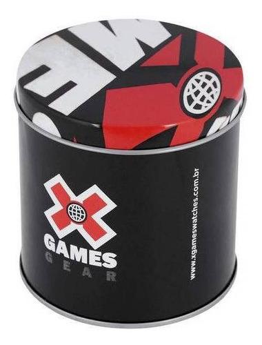 relógio x-games feminino digital  rosa/ cinza xfppd082 bxgx