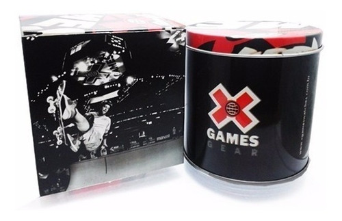 relógio x-games feminino digital xfppd059 pxbx branco rose