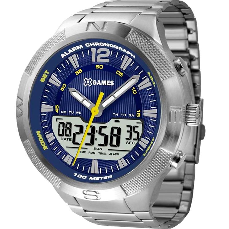 9715abce186 Relógio X-games Masculino Xmssa007d2sx - R  329