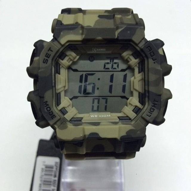 a6d0ec1190e Relógio X-games Masculino Xgppd085 Camuflado Mais Vendido - R  195 ...