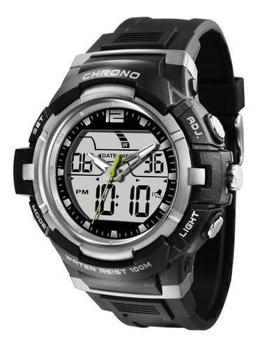 relógio x-games masculino anadigi xmppa202 bxpx