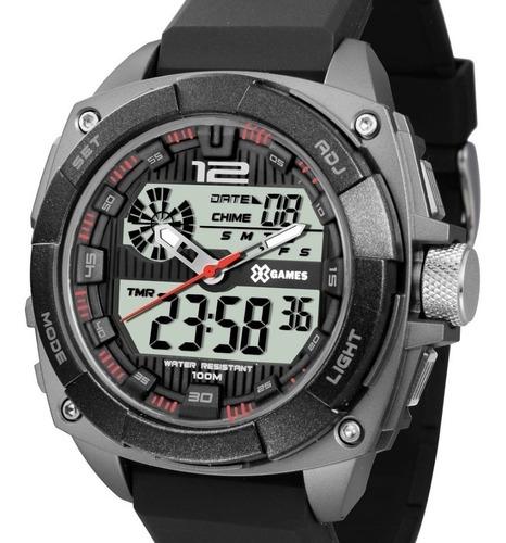 relógio x-games masculino anadigi -  xmppa261 bxpx