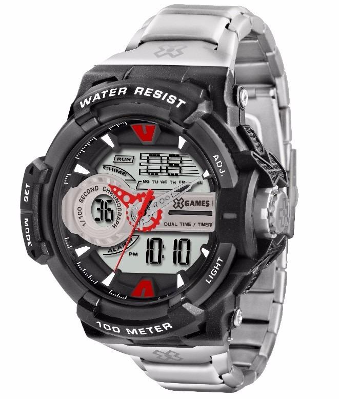 3bfbe43e63f Relógio X-games Masculino Anadigi Xmpsa033 Bxsx Oferta - R  279